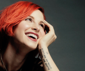 hair, hayley, and orange image