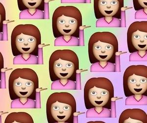 emoji and background image