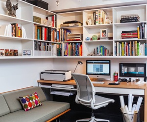 book, desk, and home image