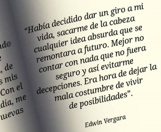 Image About Edwin Vergara In Frases By Brig
