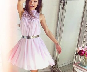 cute dress, pink, and dress image
