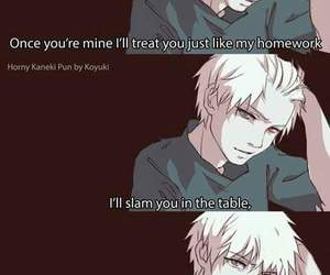 anime, funny, and tokyo ghoul image