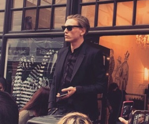 actor, Jamie Campbell Bower, and singer image