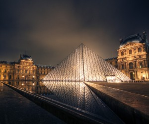 paris and luvre image