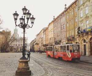lviv, travel, and ukraine image