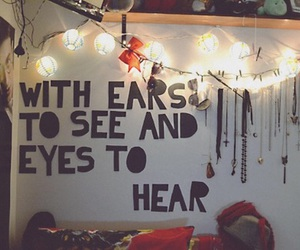 room, sleeping with sirens, and light image