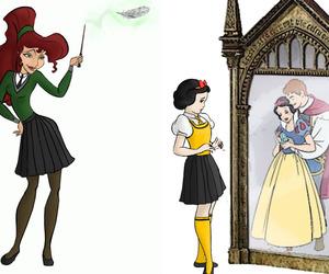 slytherin, hufflepuff, and megara image