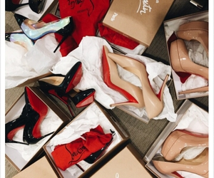 louboutin, shoes, and luxury image