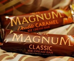 Magnum, ice cream, and food image