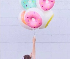balloons and donuts image