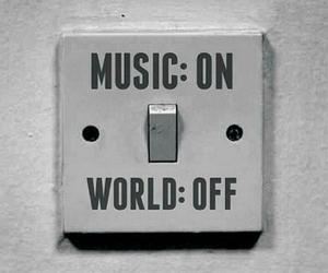 music, black and white, and world image