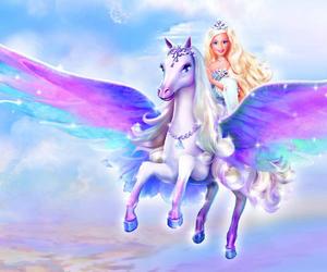 barbie, barbie movies, and magic of pegasus image