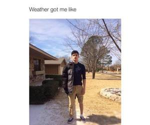 funny, weather, and lol image