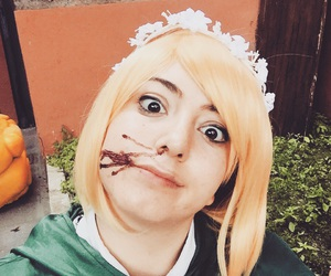 cosplay, attack in titan, and petra ral image