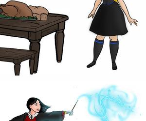 alice, gryffindor, and mulan image