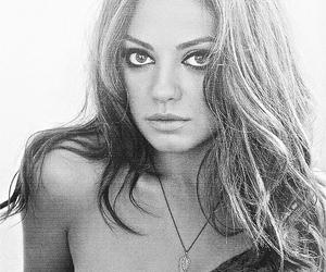 Mila Kunis, pretty, and eyes image