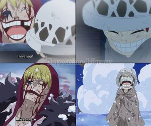 anime, corazon, and Law image