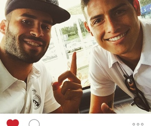 real madrid, instagram, and james rodriguez image