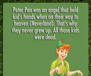 peter pan, disney, and funny image