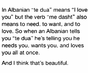 albanian, beautiful, and quote image