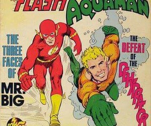 aquaman, DC, and flash image