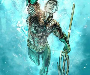 aquaman, hero, and justice leage image