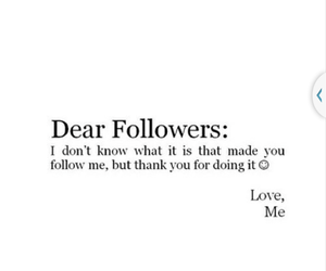 followers, thanks, and heartit image