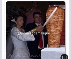 kebab, mariage, and marrant image