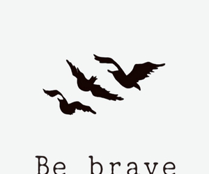 be brave, cool, and tattoo image