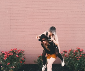 fashion, flower, and fun image