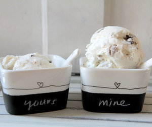 ice cream, food, and mine image