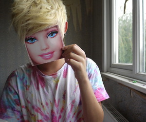 barbie, girl, and blonde image