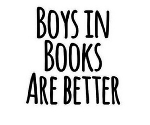 books, boys, and boys in books image
