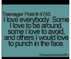 quote, love, and teenager post image