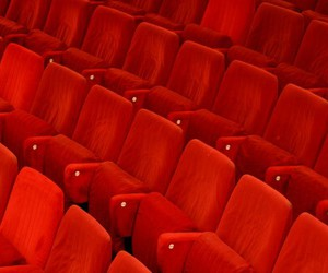 red and cinema image