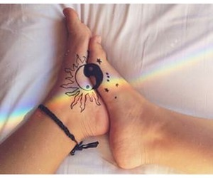 tattoo, perfect, and feet image