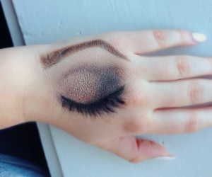 brown, decay, and eyeshadow image