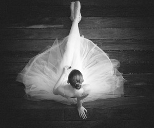 ballet, white, and black image