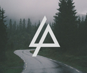 linkin park, music, and forest image