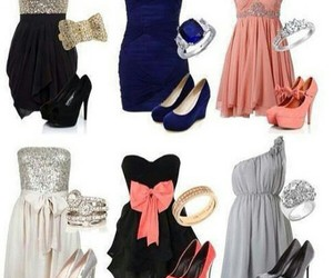 dress, shoes, and clothes image