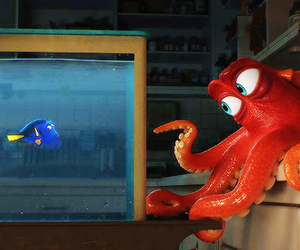 finding dory, disney, and fish image