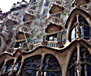 architecture, Barcelona, and spain image