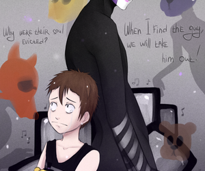 kid, puppet, and fnaf 4 image