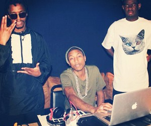 lupe fiasco, pharrell, and tyler the creator image