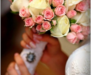 roses and wedding image