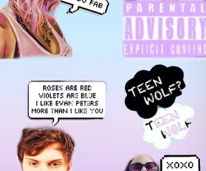 OMG, teen wolf, and swag image