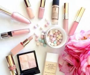 makeup, pink, and love image