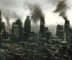 apocalypse, los angeles, and resident evil afterlife image