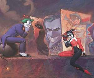crazy, harley quin, and joker image