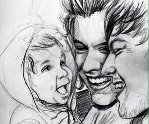larry, larry stylinson, and baby image